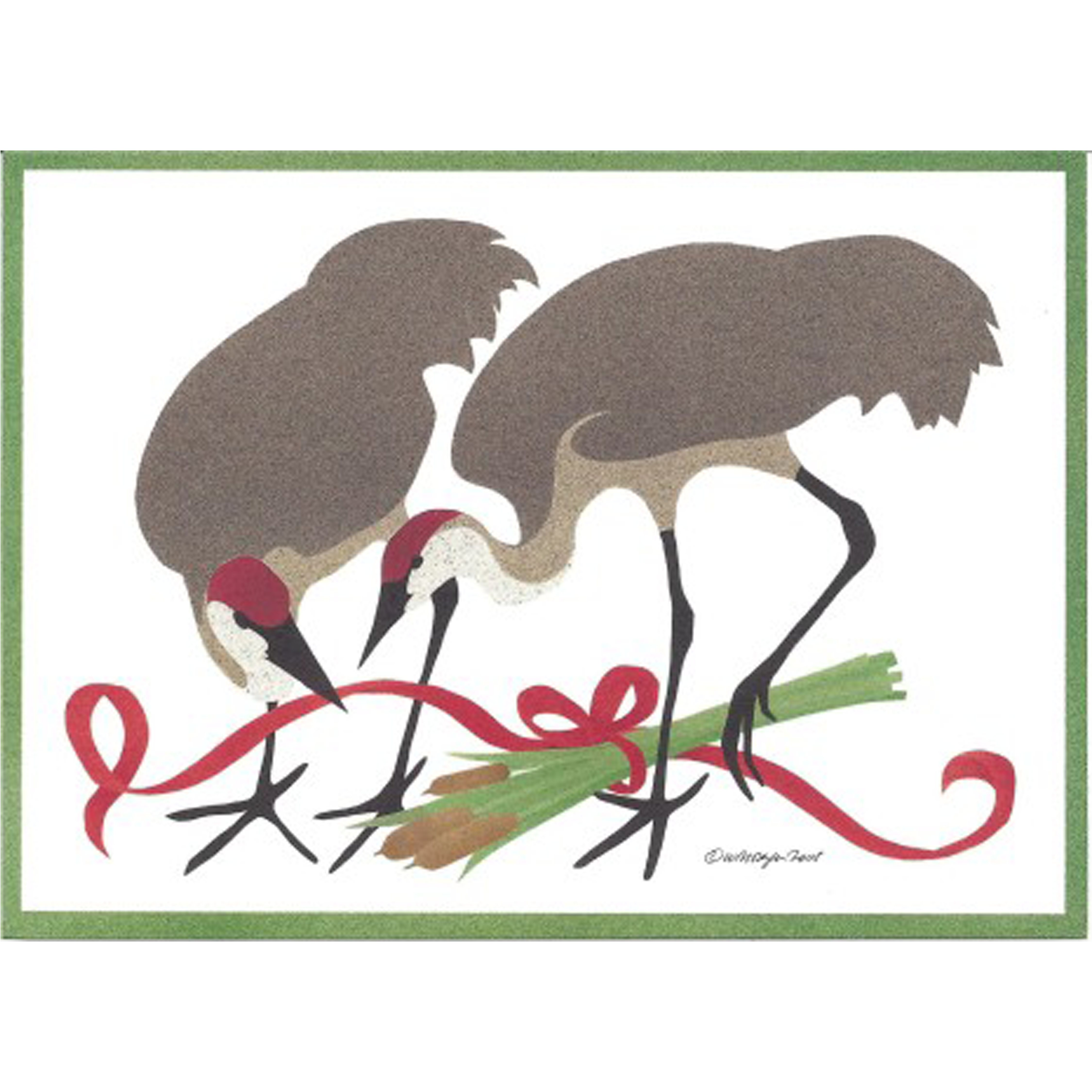 Sandhill Crane Holiday Cards – Environment for the Americas