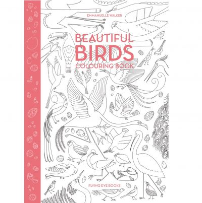 Beautiful Birds Coloring Book – Environment for the Americas